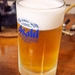 すき焼・鍋物 なべや - 生ビール