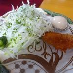 小山ダム物産所 - カレーの前菜