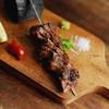 【厚切り】牛タンステーキ串の炭火焼