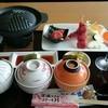 不老ふ死温泉 本館お食事処 - 料理写真:まぐろステーキ丼、セット