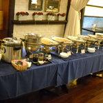 広東料理セレブリティクラブ セラリ迎賓館 - ブッフェ台