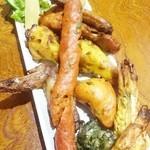 グリーンインドレストラン - タンドリーミックスプラッター