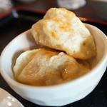 中華料理 長城 - 焼き?ギョーザ