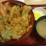 天丼専門店 てんき - えび豚丼