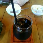 naru - レインフォレストダブル認証の有機焙煎珈琲(アイス)