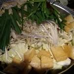 大人のホルモン - モツ鍋(これ5人前)