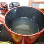 51664225 - 蕎麦湯は、釜湯です。