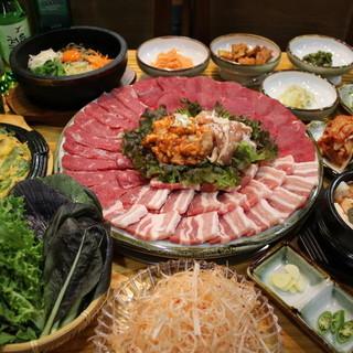 すべて手作り!韓国のオムニの味を再現したメニュー