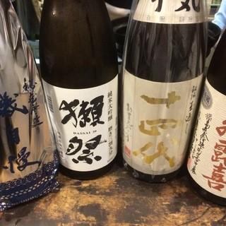 プレミア日本酒や季節限定酒