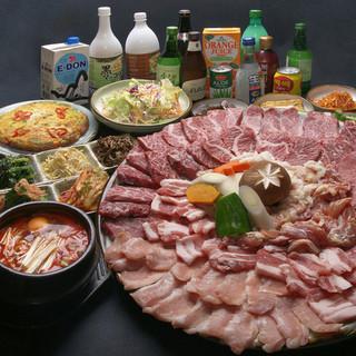 韓国料理のお供によく合うドリンクも種類豊富!