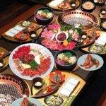 羅々亭 - 料理写真:得々BIG家族盛り(全部で480グラム)