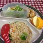 51670519 - 柳麺セット 950円