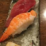 轟座 - 本締めの寿司2貫