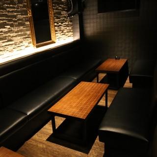 【3階】大人な雰囲気のシックなVIPルーム(~30名様)