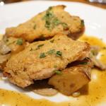 ラ ブォナ ヴィータ - 山梨県美桜鶏のチーズパン粉焼き