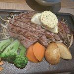 きよやす庵 - 絶品牛ステーキ御膳