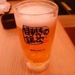 目利きの銀次 - 【2016.5.30(月)】生ビール530円