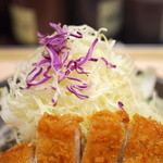 松のや - ロースかつ&カニクリームコロッケ定食
