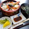 寿司・割烹 新常葉 - 料理写真:海鮮丼(ランチ\500税込み)