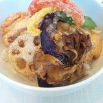 cafe nagisa - ランチです。お野菜がおいしかったです♪