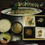 とり竹 - 料理写真:オット様チョイスの『さんま定食』1050円