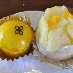 HOMEMADE CAKE SHOP さいもん - バナナマンゴー290円、プリンス290円