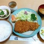 51681254 - 宮城県産 島豚ロースかつ定食 2,500円(税込)
