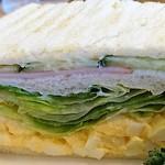 コメダ珈琲店 - 料理写真:ミックストーストきゅうりハムレタスたまごの場乱視がいいね♪
