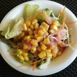 ポコアポコ - Aランチ サラダ