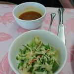 ブランシュネージュ - スープとサラダ