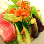 RYU-竜 - 【冷麺】昆布とカツオの出汁に少しの酢でアクセントをつけた夏に一度は食べて頂きたい一杯です。