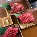 焼肉 おもに亭 - 新定番!3スターステーキ!