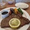 bistoro hajikko - 料理写真:200gステーキ自家製フルーツソース