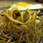 野郎ラーメン - オーションを使ったゴワゴワ麺