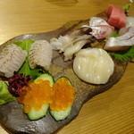活貝 日本酒 おばんざい 福島おちび - 造り盛り合わせ