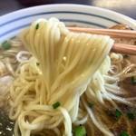こしじ - H28.05.28 らーめんセット「麺」リフト