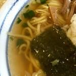 こしじ - H28.05.28 らーめんセット「スープ」