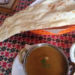 キリティカ - 日替りカレーは、ナスとチキン。
