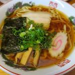 田島ラーメン - どこかホッとするビジュアル