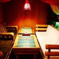 【テーブル席◆半個室】南国気分を味わえるのんびり、ゆったり空間