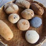 石窯パン工房森のおくりもの - 買ったパン