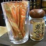 居酒屋 福 - 「辛さ自在」と「日本一辛い 黄金一味」