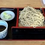 池本茶屋 - もり蕎麦 800円