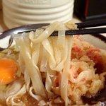 そばよし - 料理写真:天ぷらうどん、ほぼきしめん