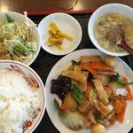 長福 - 八宝菜ランチ650円