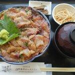 白木海岸のレストラン - りゅうきゅう丼:1000円