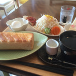 夢猫 - 夢猫ブレンド420円と厚切りトーストセット