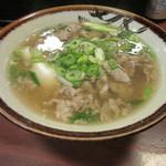 千とせ - 肉吸い(650円)