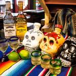 メキシコ酒場 サンズ・ダイナー - Cuervo,KAH テキーラ色々と揃えております。