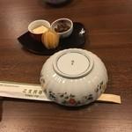 こま井亭 - 前菜
